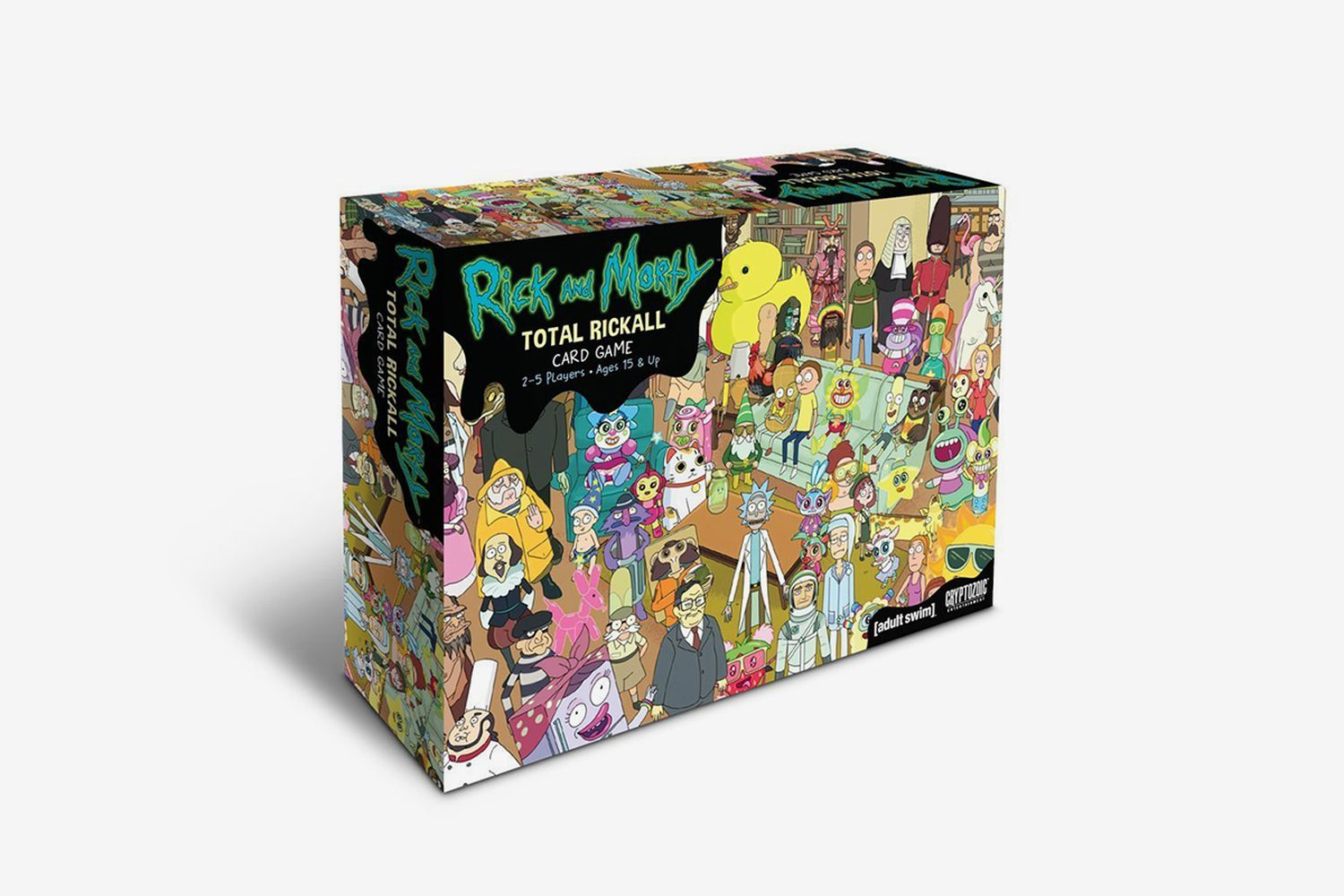 Rick and Morty 'Total Rickall' Cooperative Card Game