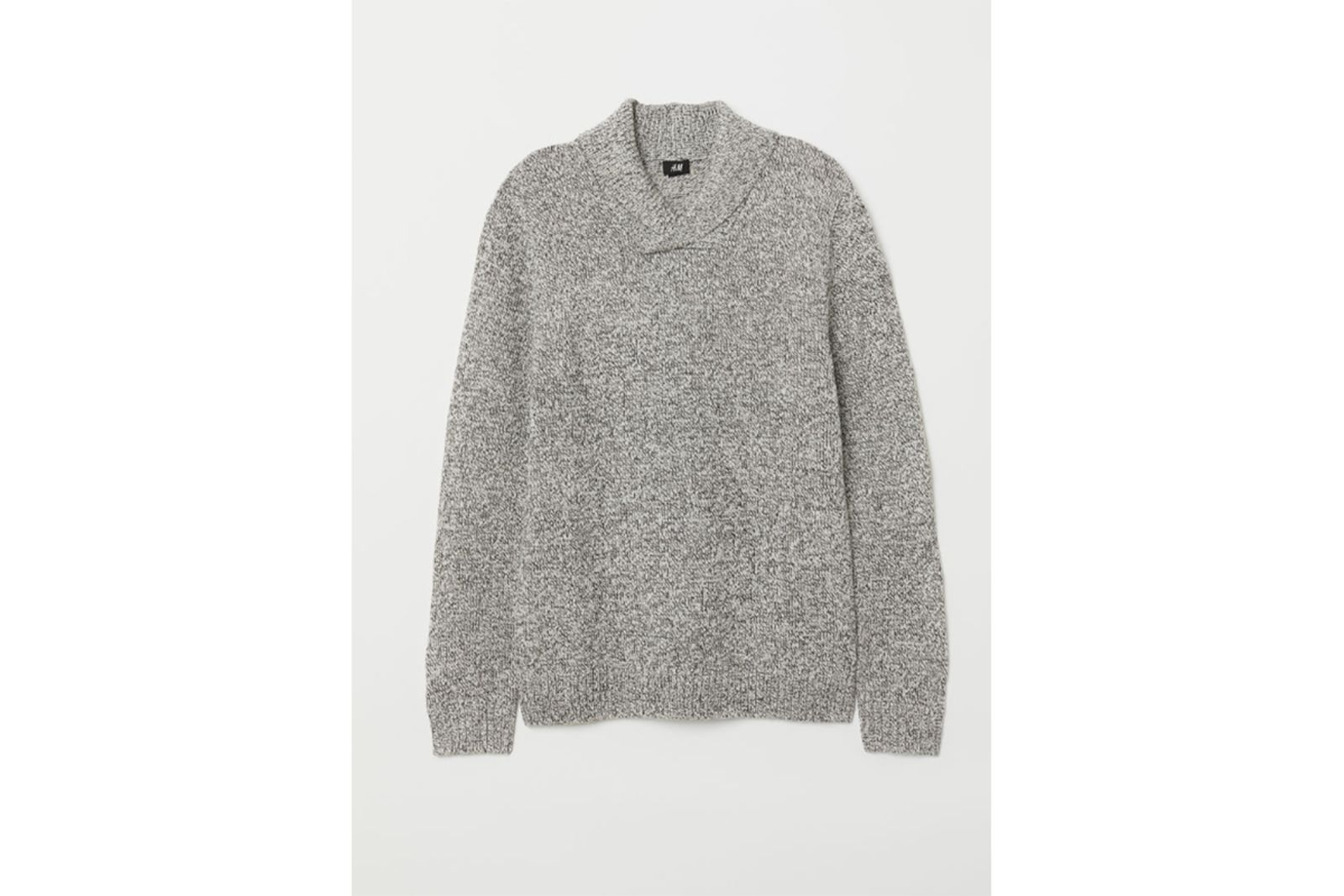H&M Shawl Collar Sweater Gift Guide holiday