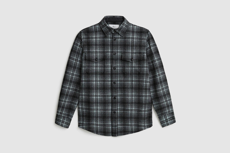 Alaskan Melton Wool Overshirt