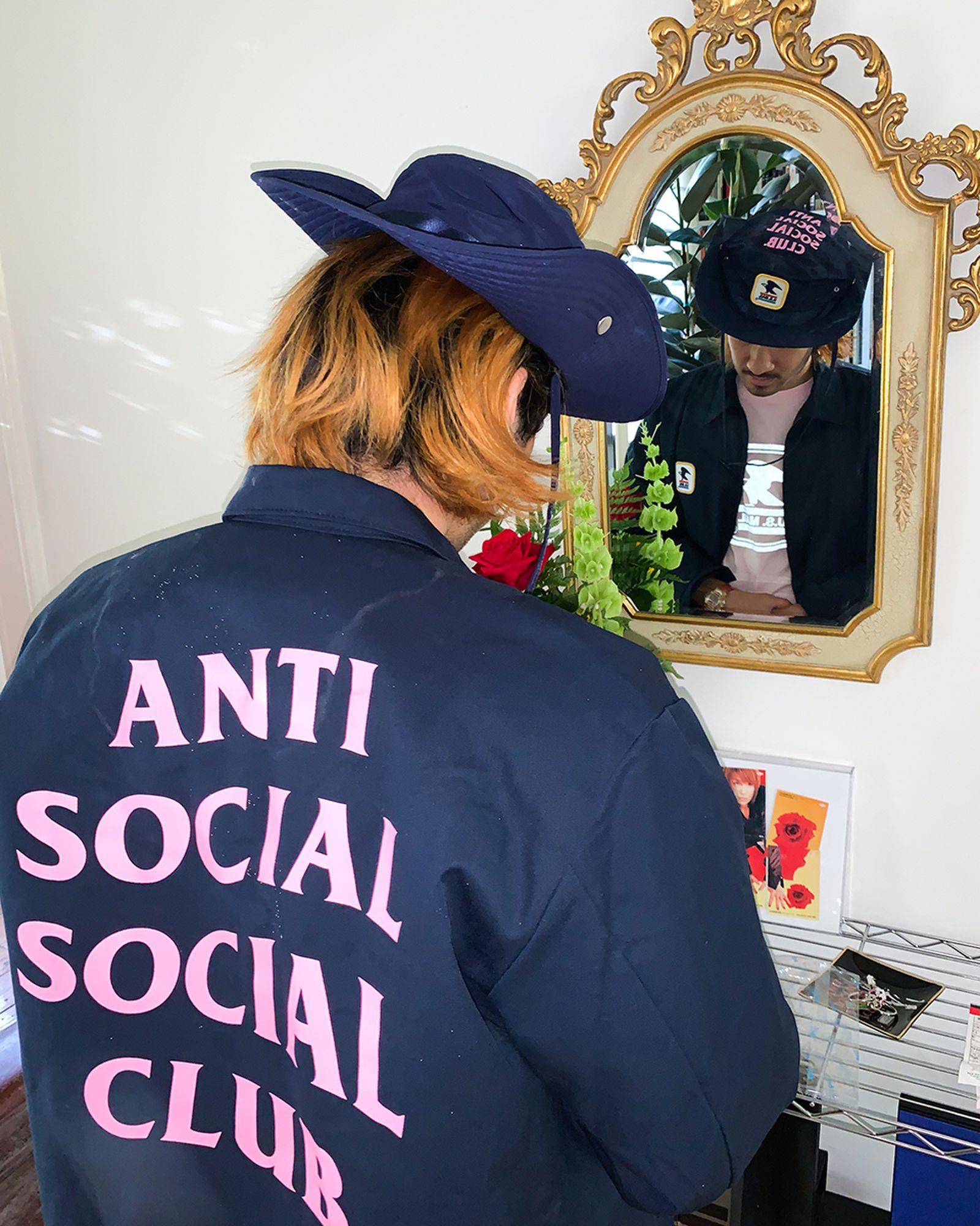 Anti Social Social Club USPS collaboration