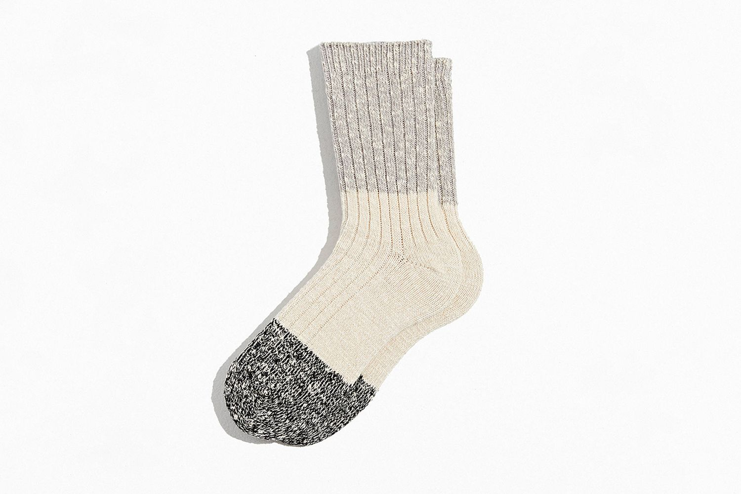 Colorblock Marl Crew Sock
