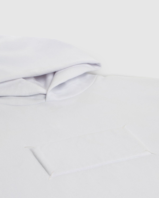 Maison Margiela — Hoodie White - Image 4