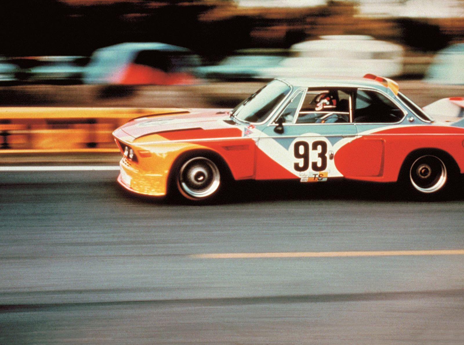 BMW Art Car 01, Alexander Calder, 1975