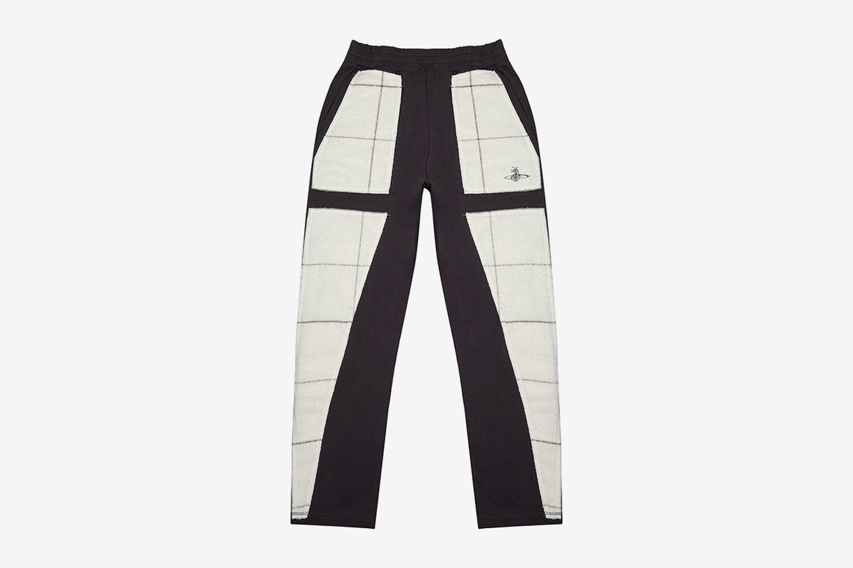 Panelled Cotton Sweatpants