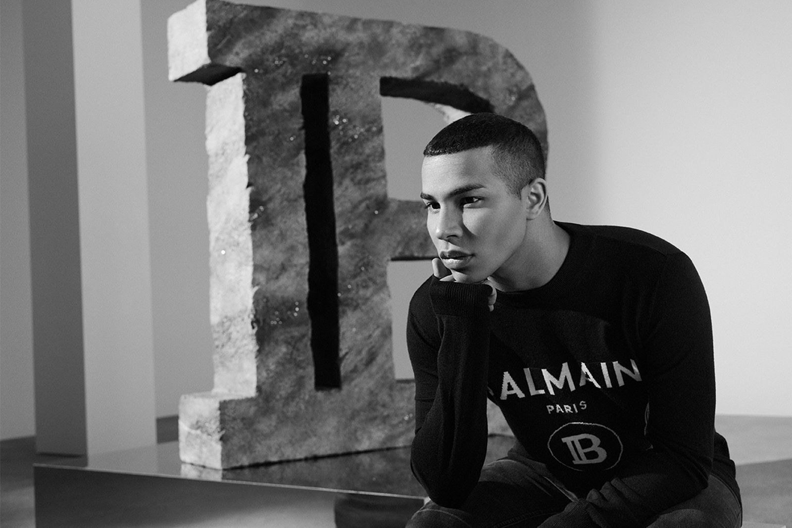 balmain olivier rousteing exclusive interview