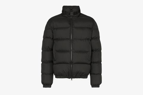 Buckled Quilted Jacket