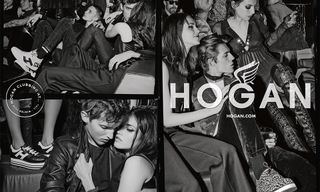 Contemporary Luxury Meets Rock 'n' Roll Glamor in HOGAN's Fall/Winter 2016 Campaign
