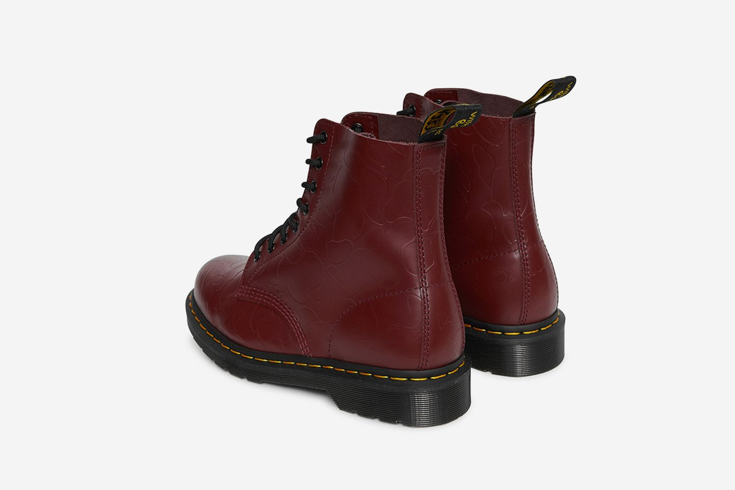 1460 Boots Cherry Red