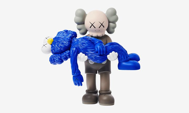 KAWS GONE figurine feat