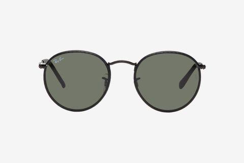Black Round Craft Sunglasses