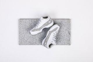 "ce2f3da50c9 Jordan Brand Is Releasing the Air Jordan 11 IE Retro Low ""White/Cobalt""  This Weekend"