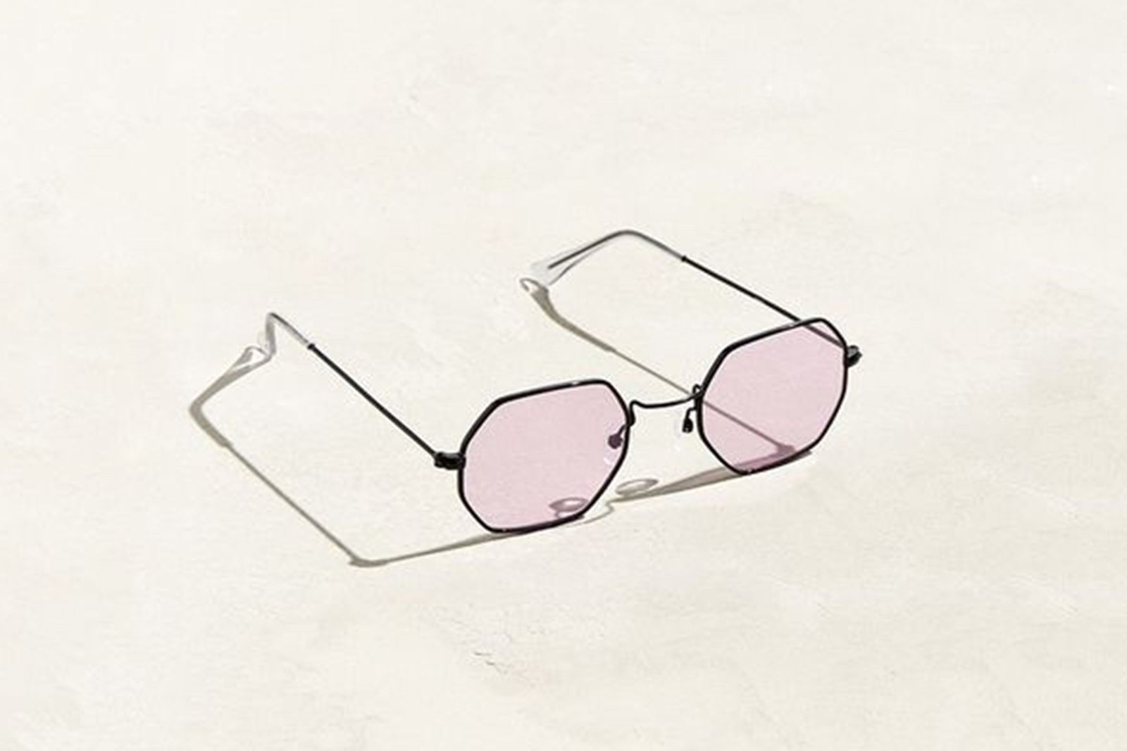 Metal Octagon Sunglasses