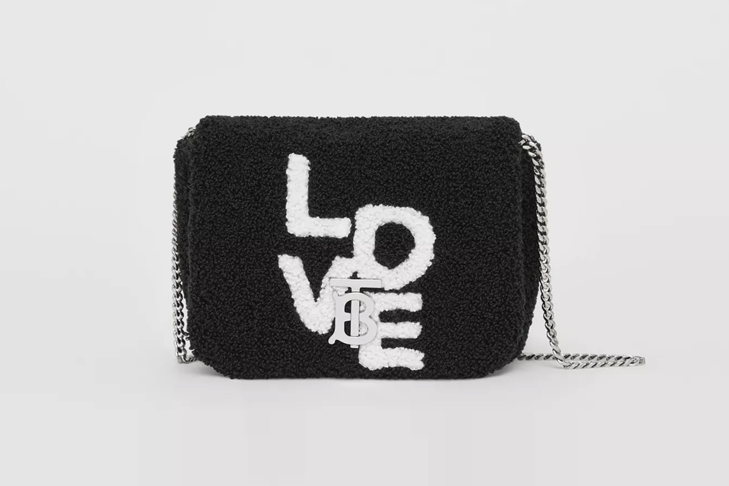 Micro Love Motif Towelling Lola Bag