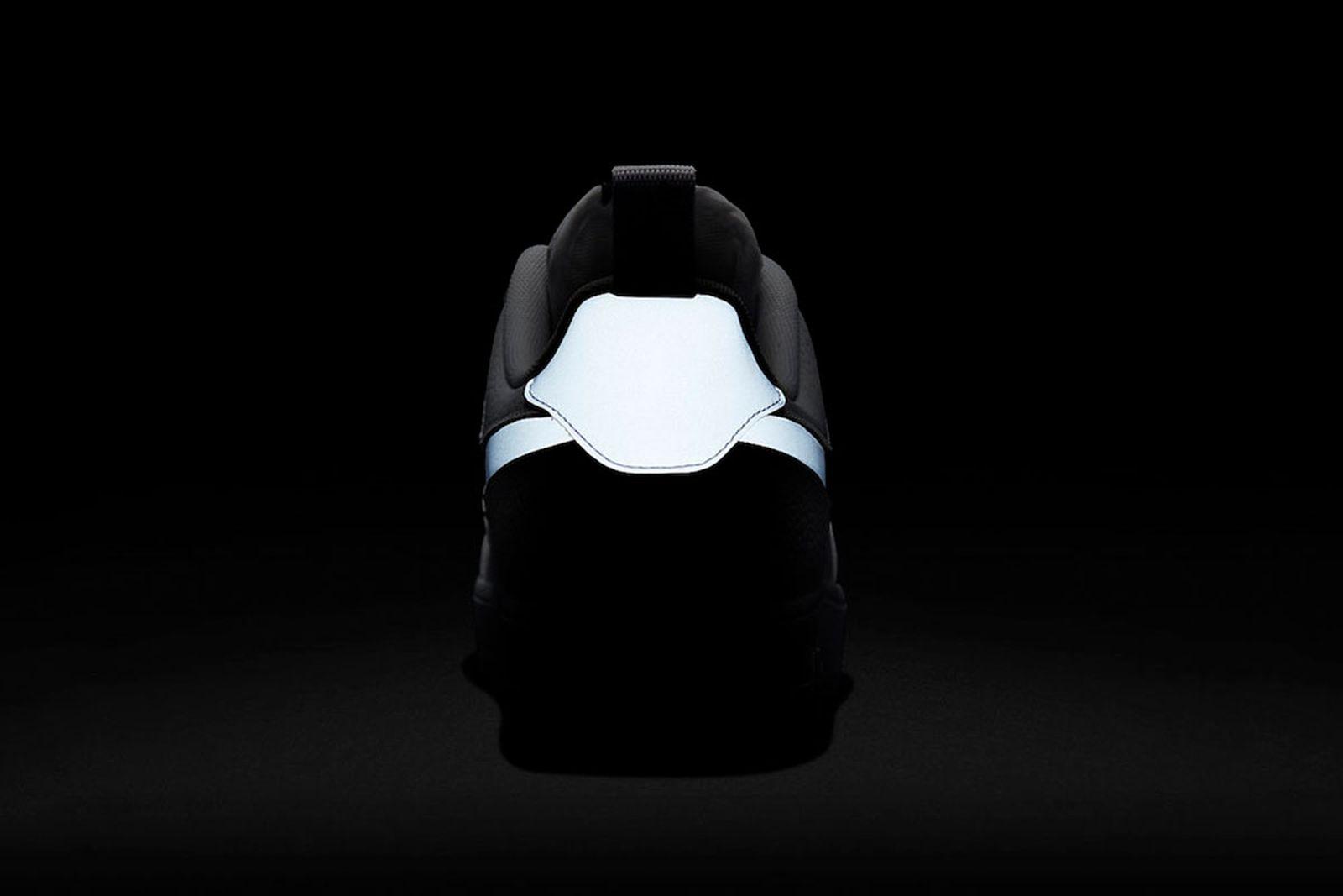 Nike Air Force 1 reflective swoosh