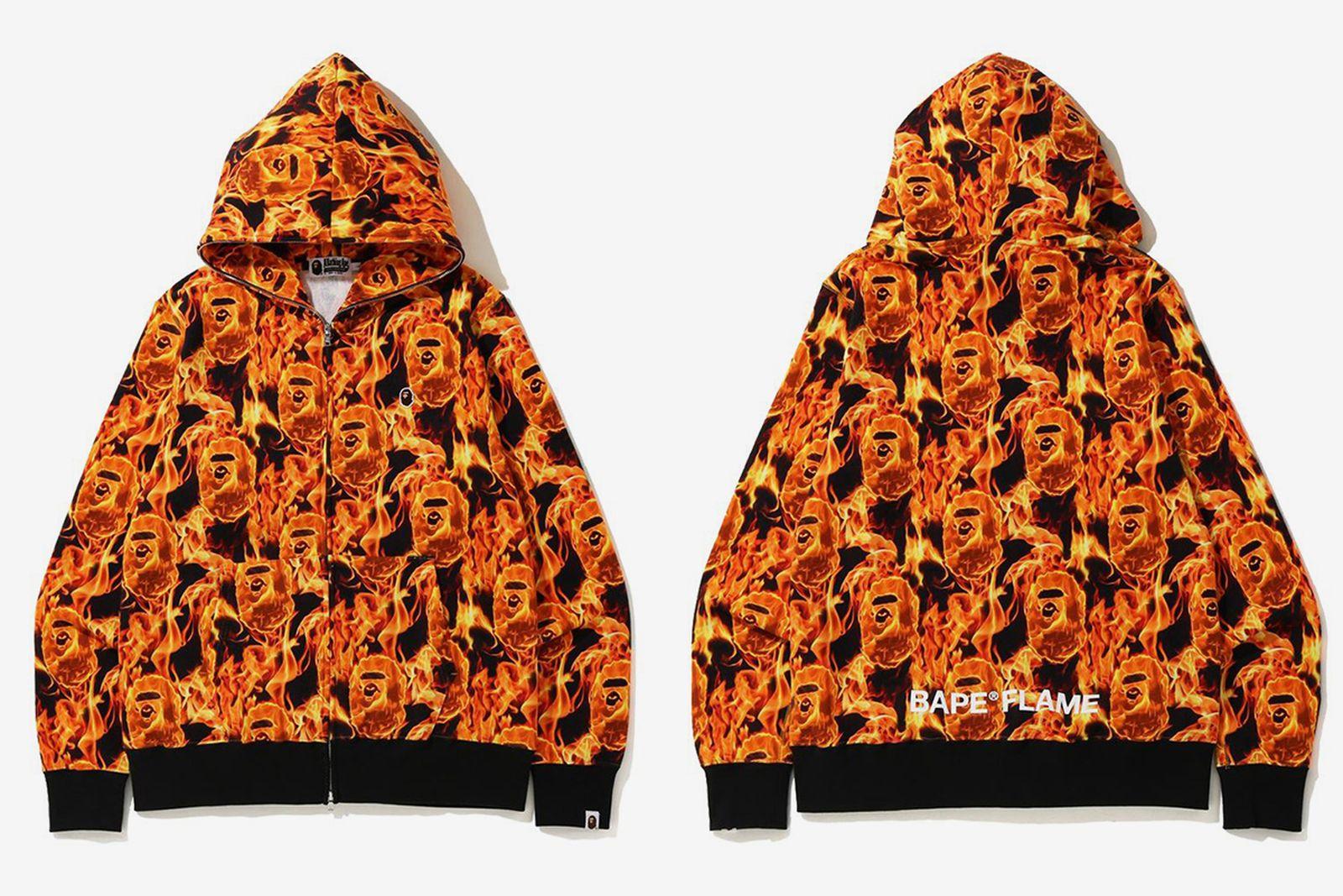 BAPE FLAME Hoodie