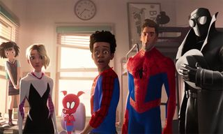 New 'Spider-Man: Into the Spider-Verse' Trailer Shows a Gang of Spider-People