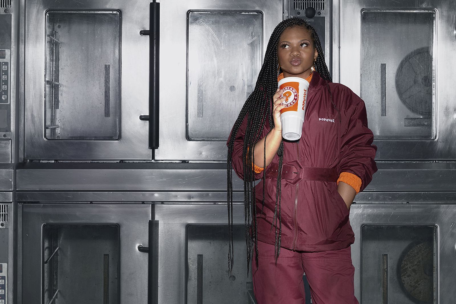 Popeyes Uniform