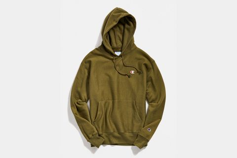 Reverse Weave Hoodie Sweatshirt