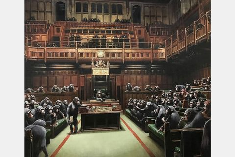 banksy devolved parliament bristol museum