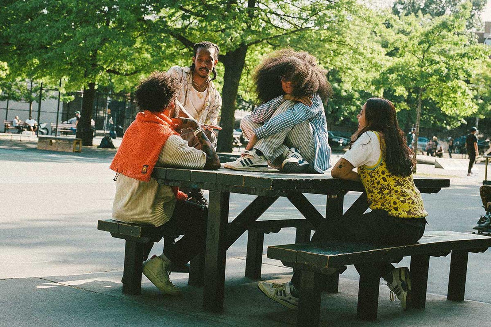 From left: Sudan Green, Jamier Burden, Veronica Eahdami, and Giselle Hernandez.