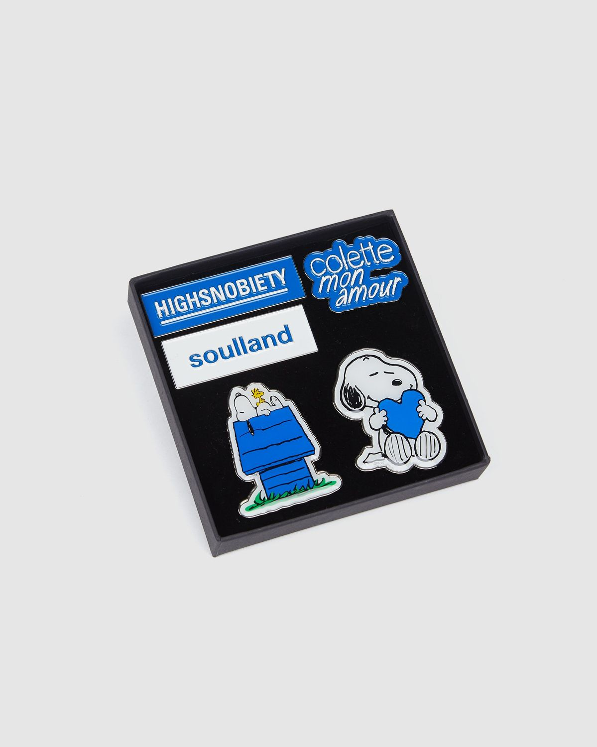 Colette Mon Amour x Soulland -  Snoopy Pin Set - Image 1