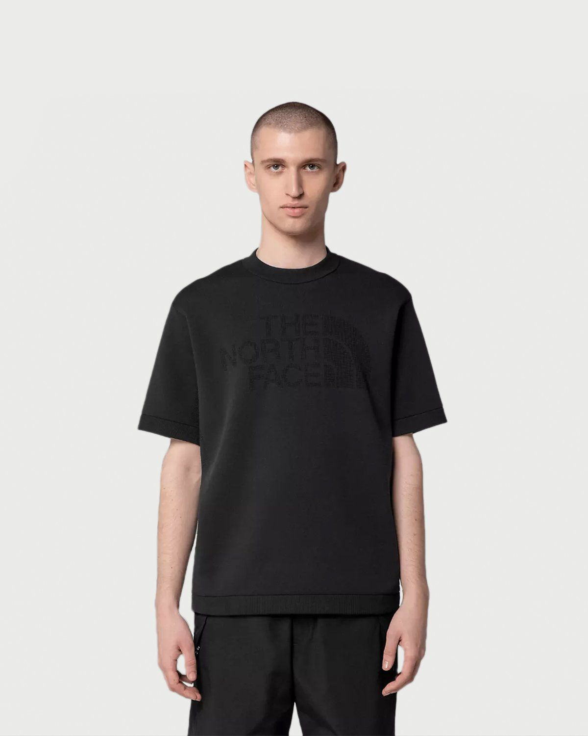 The North Face Black Series - Engineered Knit T-Shirt Black - Image 4