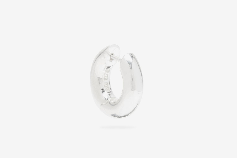 Almost Sterling-Silver Single Hoop Earring