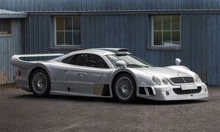 This $4.25+ Million 1998 Mercedes-Benz AMG CLK GTR Is Heading to Auction