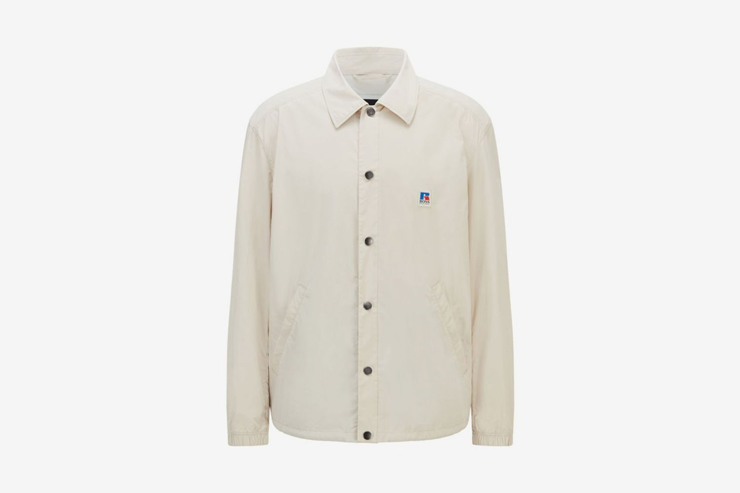 Relaxed-Fit Coach Jacket