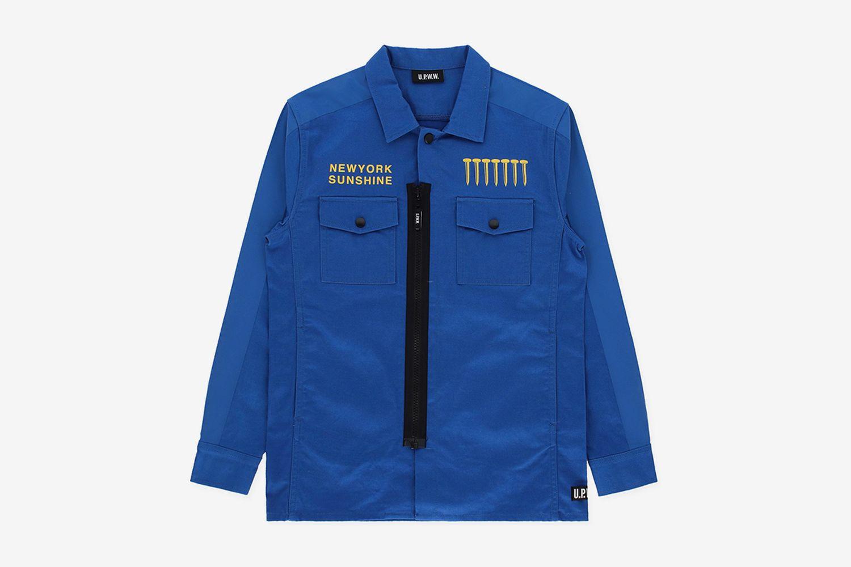 NY Sunshine Worker Shirt Jacket