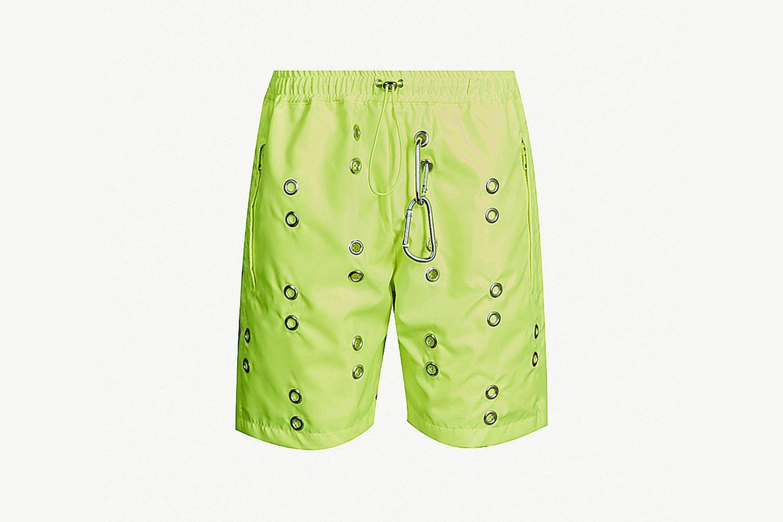 Eyelet Shell Shorts