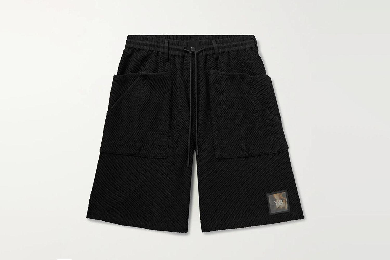 Logo Mesh Drawstring Shorts