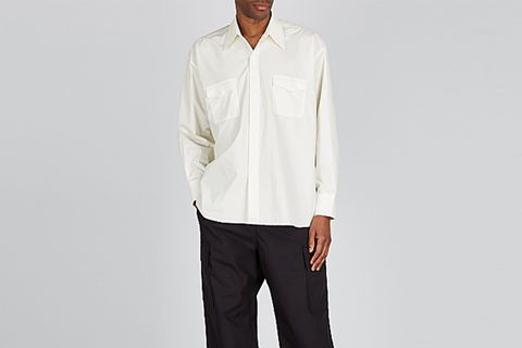 Off-White Cotton Shirt