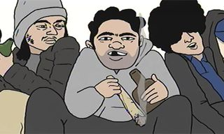 "Ratking's Wiki Drops Filthy Animated Video for ""3 Stories"""