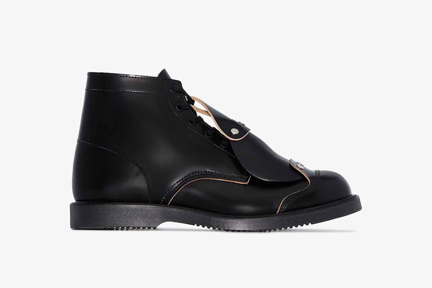 HP Safety Toe Tag Leather Boots
