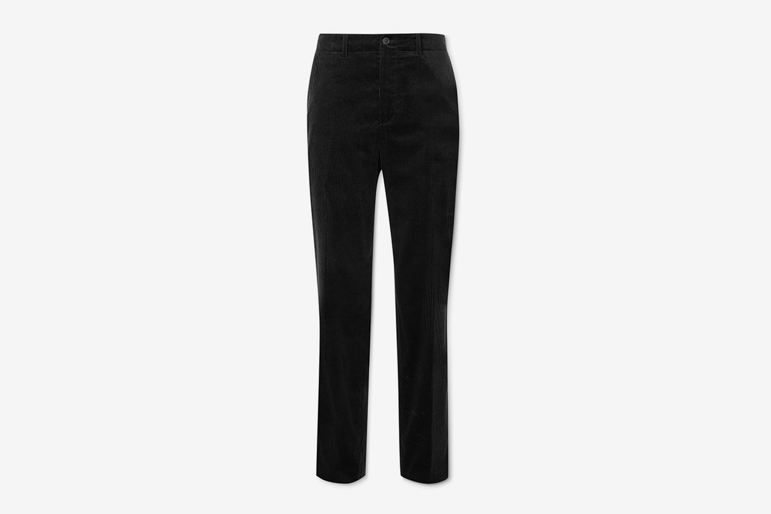 Cotton and Cashmere-Blend Corduroy Trousers