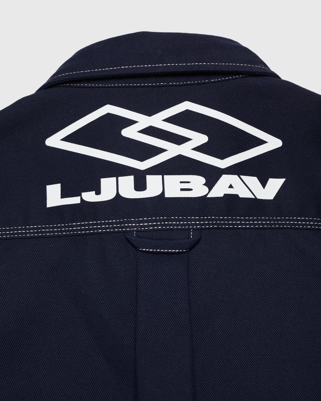 Carhartt WIP x Ljubav —  Chalk Shirt Jac Navy - Image 4