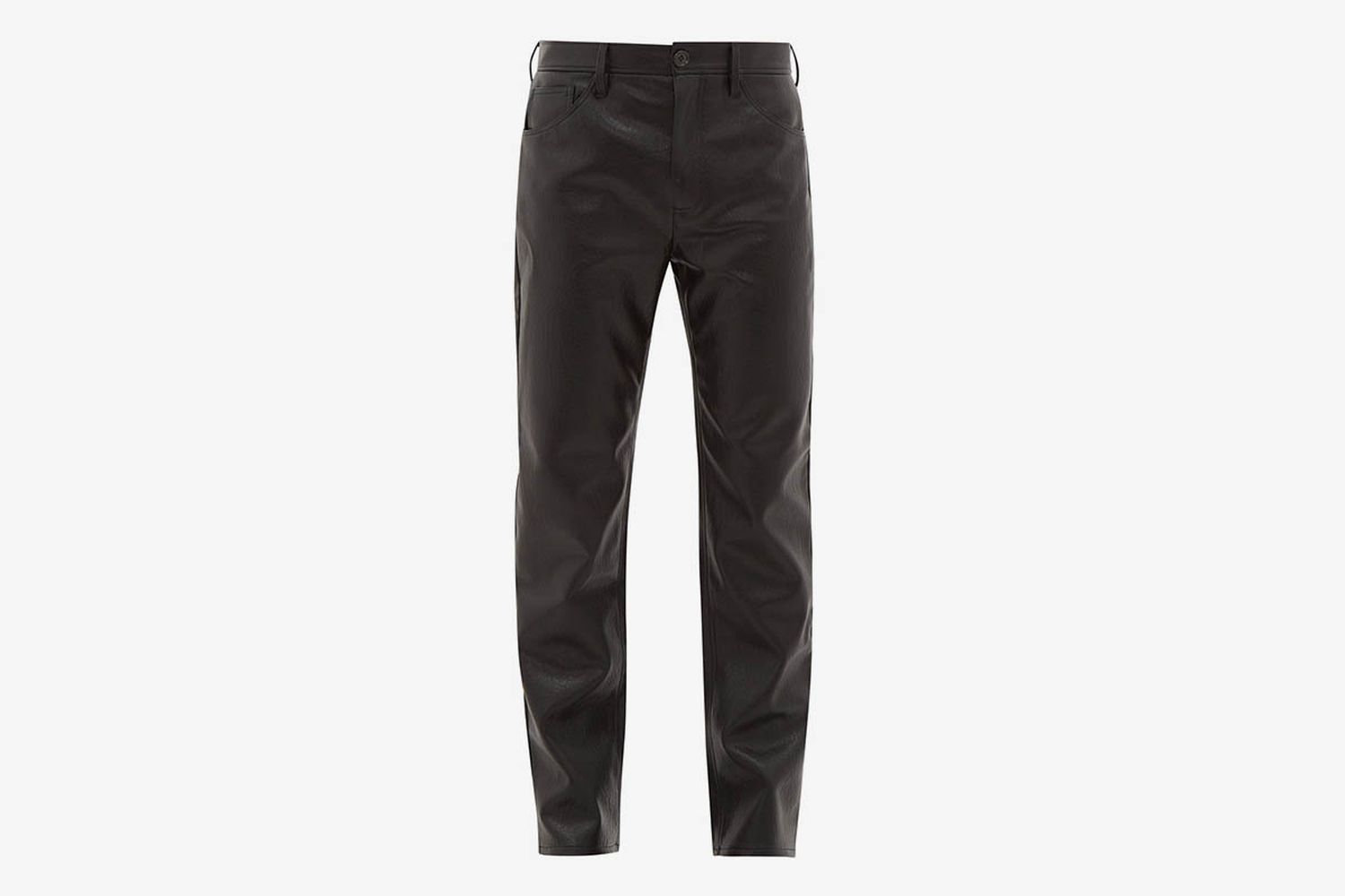 Sin Faux-Leather Trousers