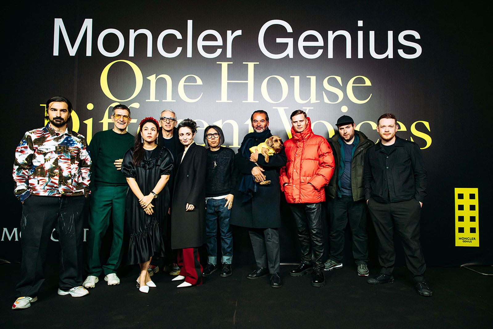 moncler genius fw19 designers all 1017 ALYX 9SM Palm Angels craig green