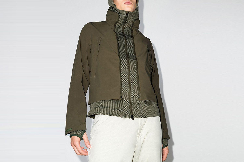 Layered Transform Track Jacket