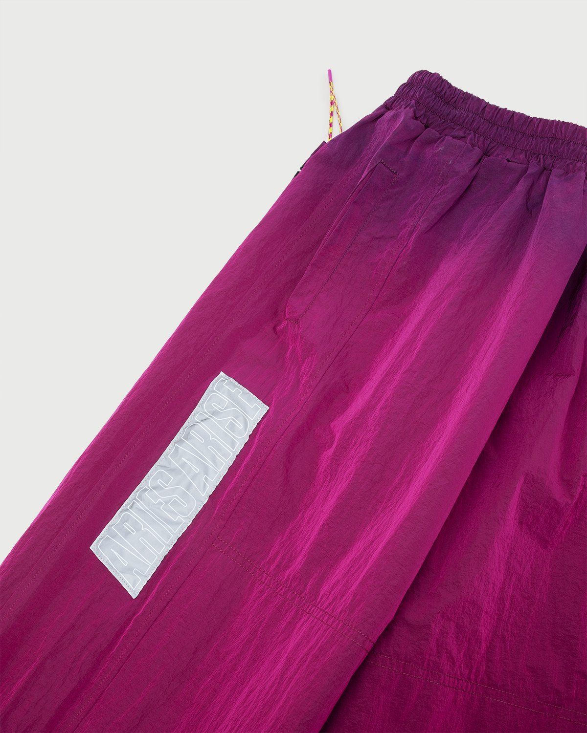 Aries — Ombre Dyed Track Pants Fuchsia - Image 2