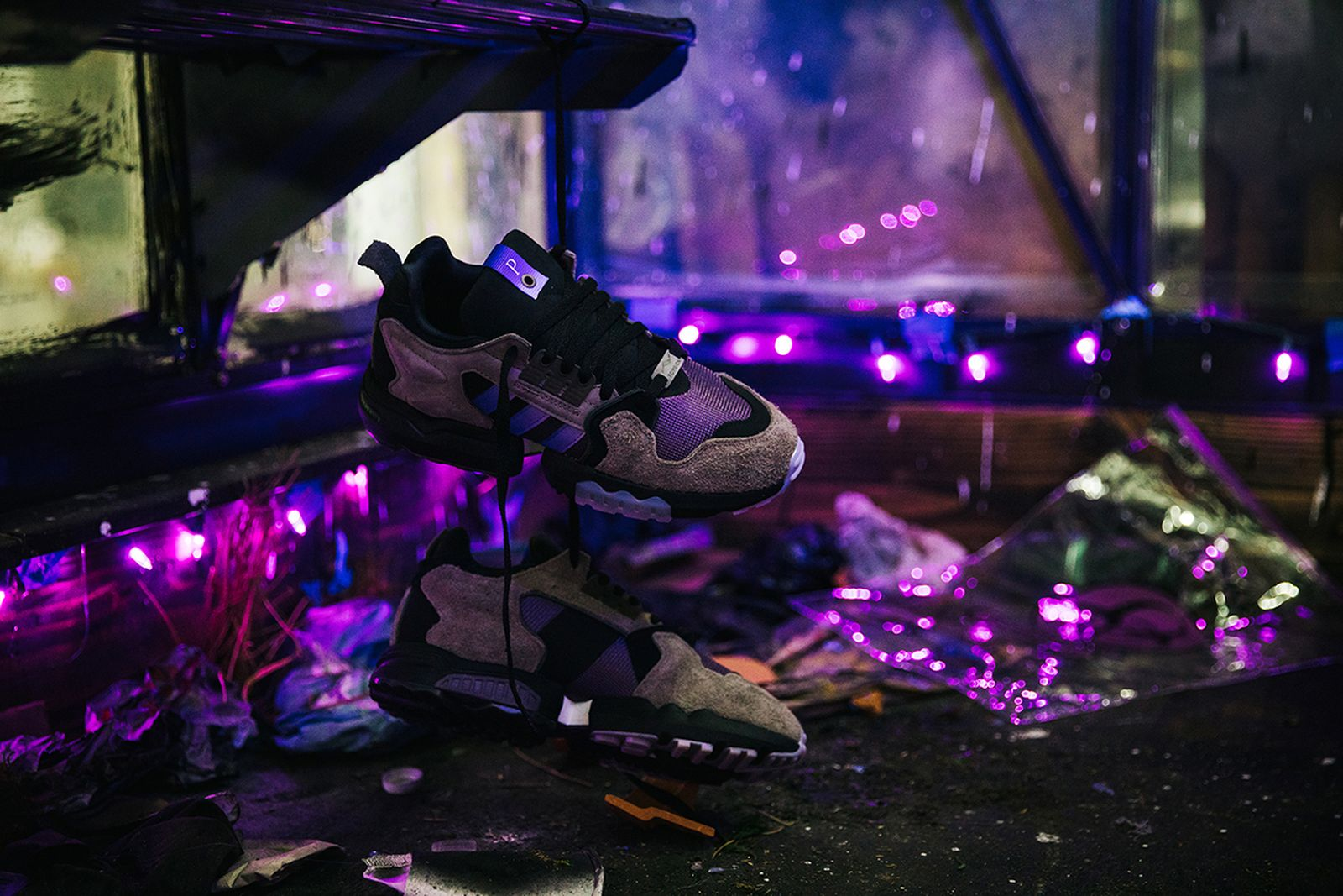 "Packer x adidas ZX Torsion ""Mega Violet"""