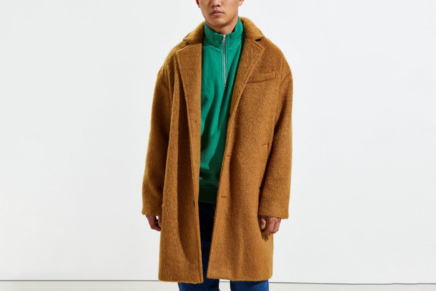 Relaxed Wool Topcoat