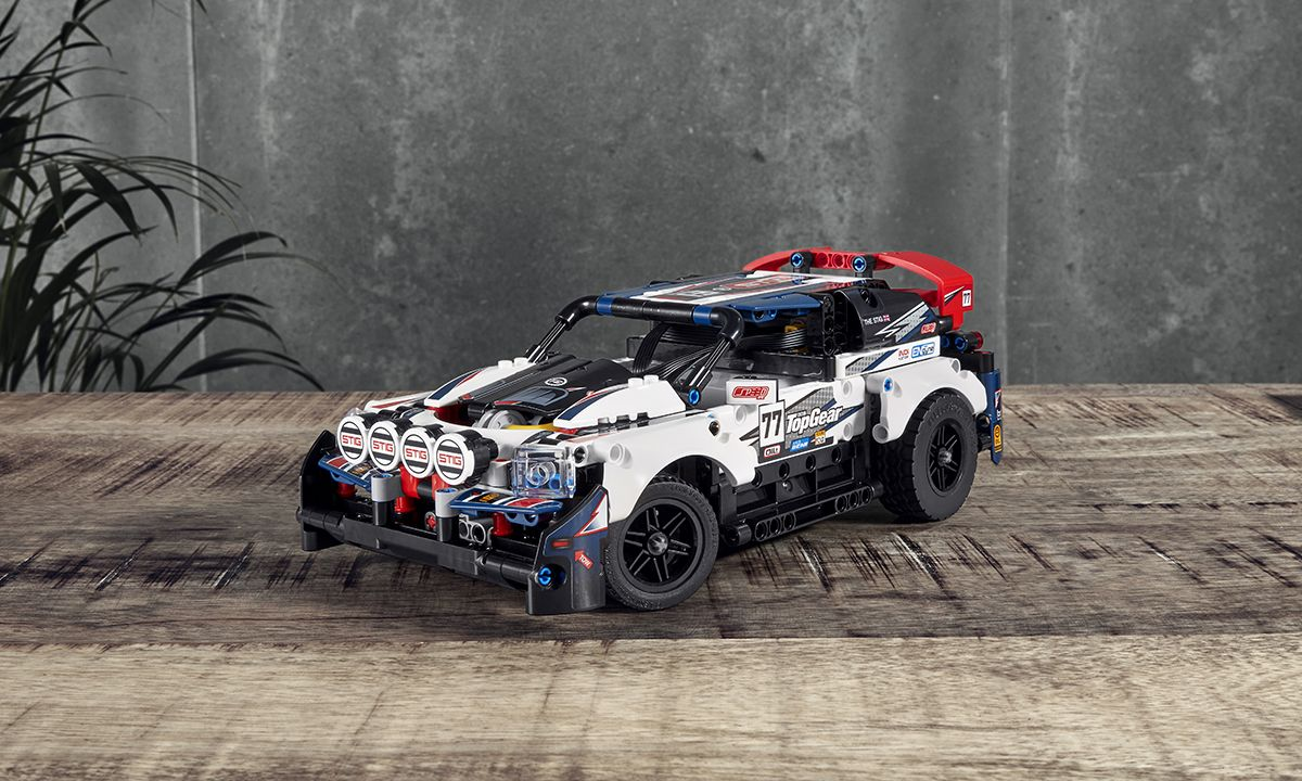 LEGO's New Top Gear Rally Car Can Be Remote-Controlled From Your Phone