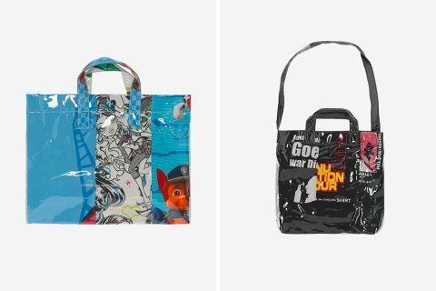 0fb2d2a266c4 Shop COMME des GARÇONS SHIRT s Iconic PVC Bags Before They re Gone