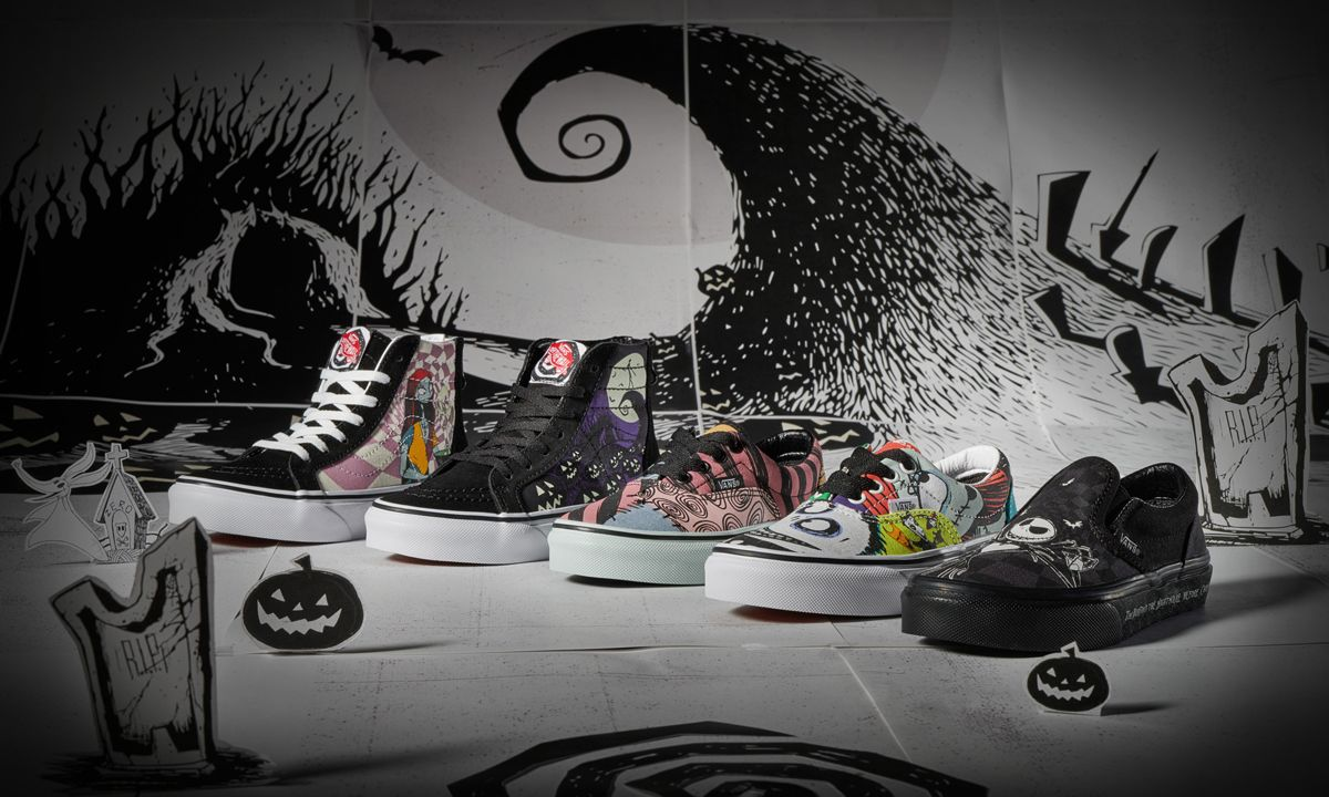 Vans x 'The Nightmare Before Christmas' First Look