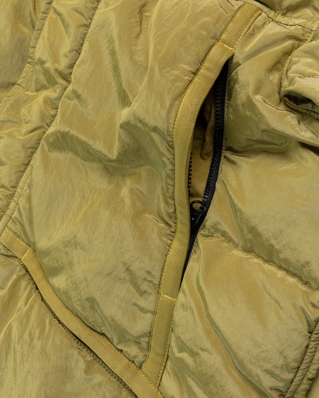 Stone Island – Real Down Jacket Dark Beige - Image 3