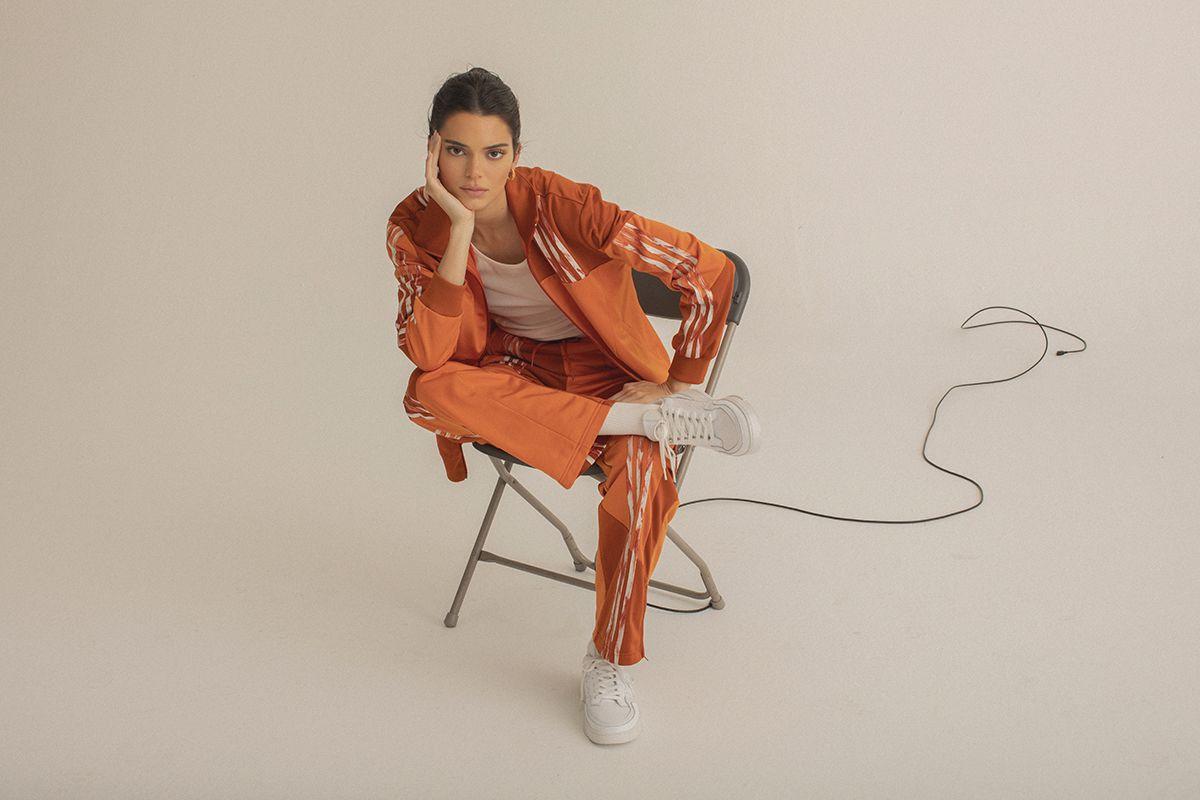 Kendall Jenner Debuts Daniëlle Cathari x adidas Originals FW19