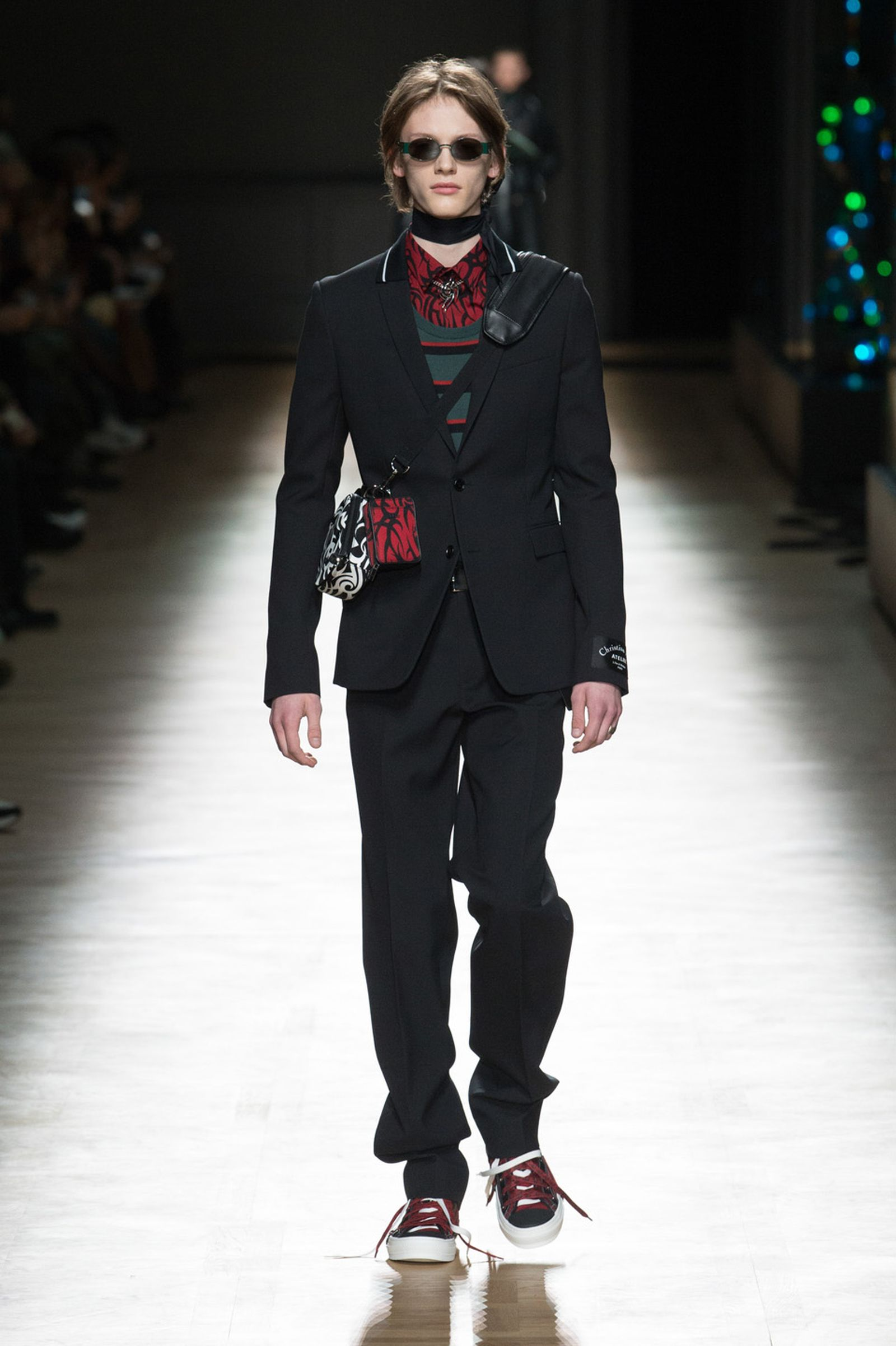 DIOR HOMME WINTER 18 19 BY PATRICE STABLE look15 Fall/WInter 2018 runway
