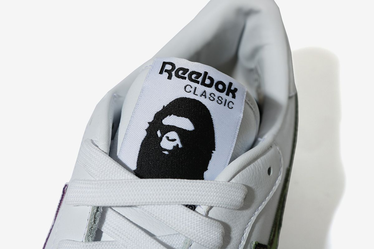 BAPE Turns Reebok's Club C Into the BAPE STA 28